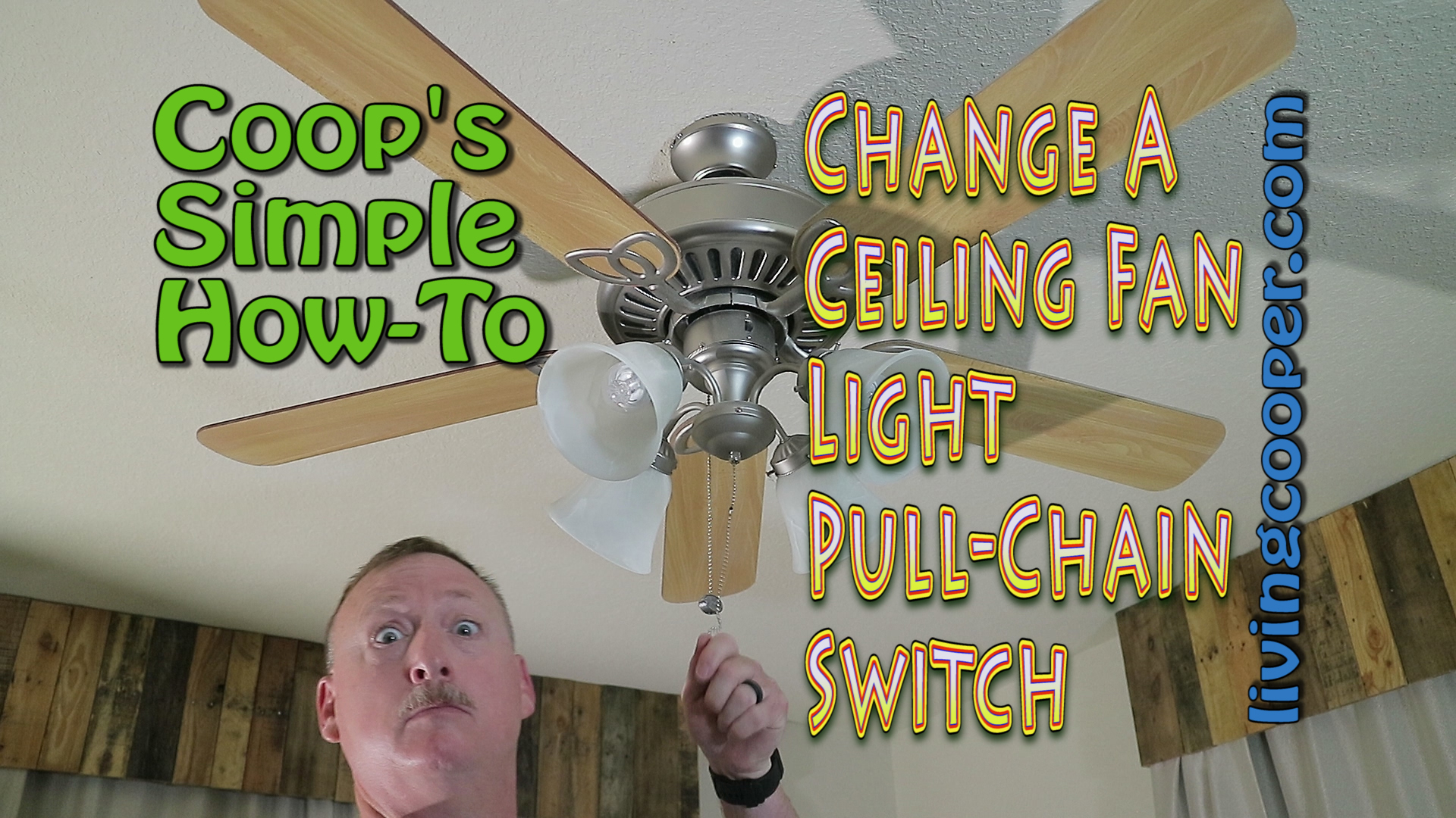 Ceiling Fan Light Pull Chain Replacement Living Cooper